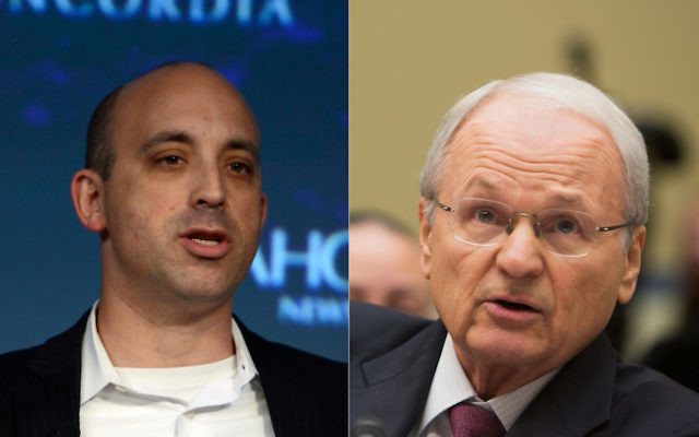 Jonathan Greenblatt, left, is the CEO of the Anti-Defamation League. Morton Klein, right, is the head of the Zionist Organization of America. (Getty Images)