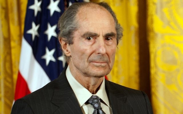 Philip Roth at the National Humanities Medal ceremony at the White House, March 2, 2011. JTA
