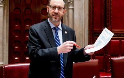 NY State Senator, Simcha Felder (D) 17th Senate District. Via nysenate.gov