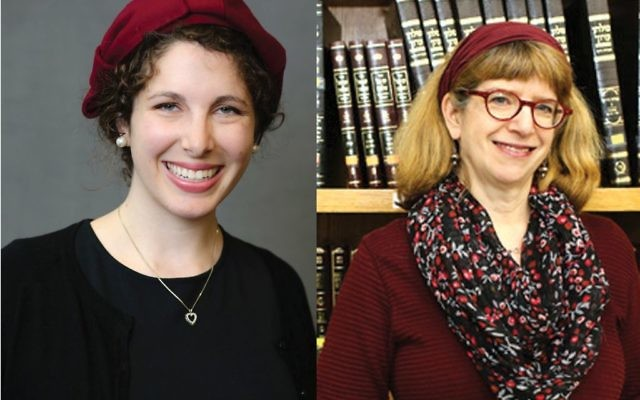 """Maharats-to-be Leah Sarna, left, and Claudia Marbach: """"I'm sorry there are naysayers but that won't stop me from teaching Torah and learning Torah."""" Yeshivat Maharat"""