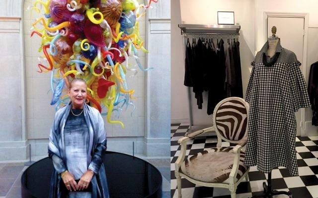 Former boutique owner Fern Penn is launching an Israeli-fashion-based travel business. Photos courtesy of Fern Penn