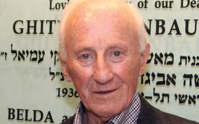 Marcel Lindenbaum pioneered support of women's advanced Jewish learning programs with his late wife Belda. Ohr Torah Stone
