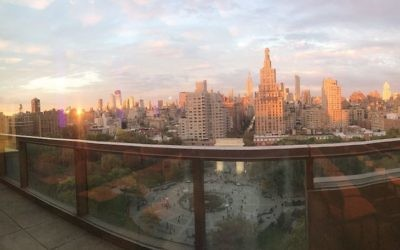 Views from NYU's Kimmel Center for University Life. Photos by Doria Kahn.