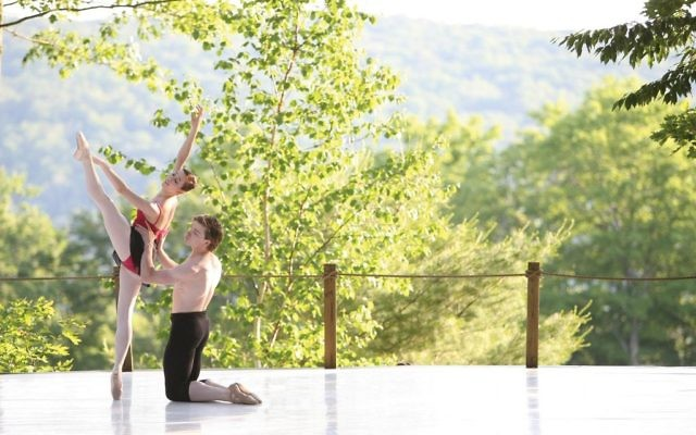The Inside Out stage at Jacob's Pillow, the venerable summer dance festival in Becket, Mass. The Pillow is expanding its programs into what used to be the off-season. Courtesy of Berkshires.org