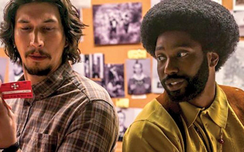 "Adam Driver and John David Washington in the trailer for ""BlackKkKlansman."" Pascal Le Segretain"