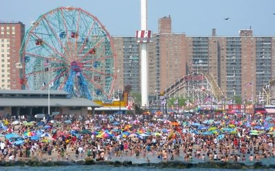 Coney Island Beach. Wikimedia Commons