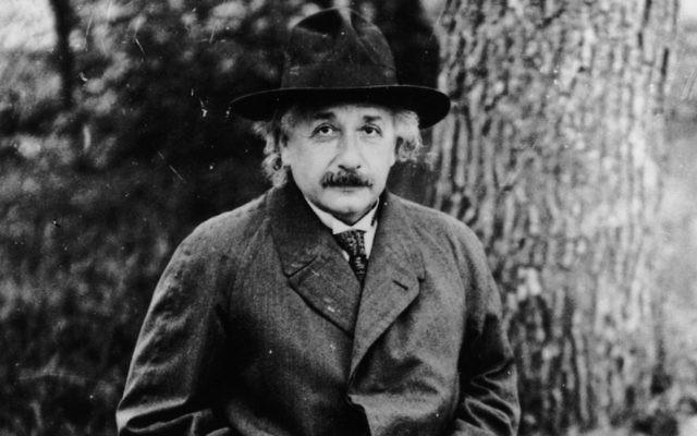 Albert Einstein in 1932. (Hulton Archive/Getty Images)