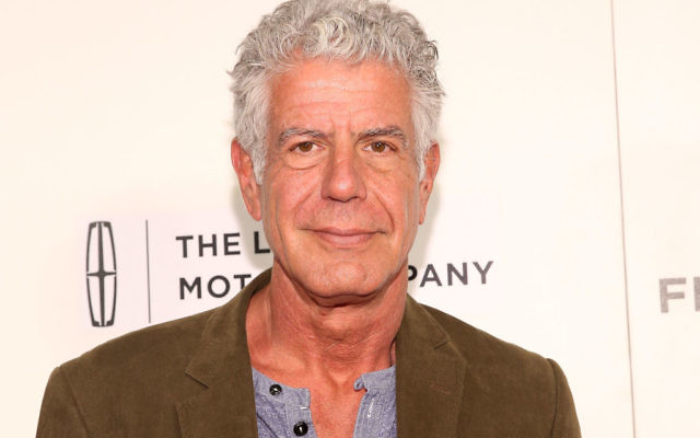 Anthony Bourdain attends 'WASTED! The Story of Food Waste' Premiere during 2017 Tribeca Film Festival at BMCC Tribeca PAC on April 22, 2017 in New York City. Getty Images