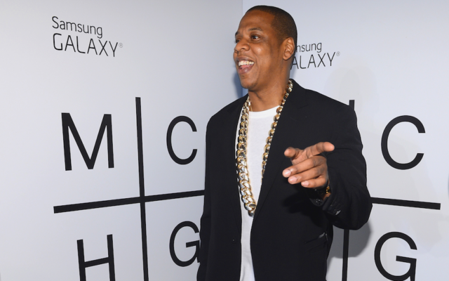 Jay-Z at a Samsung Mobile event in Brooklyn, New York, July 3, 2013. (Larry Busacca/Getty Images for Samsung)