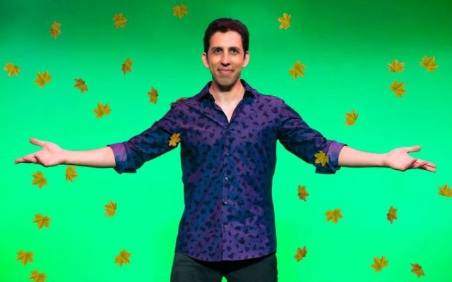 """Vitaly Beckman's show """"Vitaly: An Evening of Wonders"""" is now playing off Broadway. Courtesy of Jeremy Daniel"""