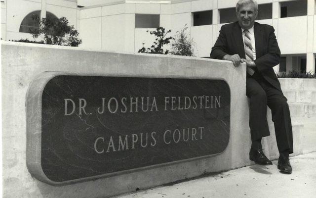 Dr. Joshua Feldstein. Courtesy of Delaware Valley University