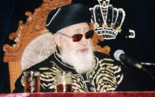 Rabbi Ovadia Yosef. Wikimedia Commons