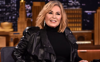 """Roseanne Barr at """"The Tonight Show Starring Jimmy Fallon"""" in New York, April 30, 2018. (Theo Wargo/Getty Images for NBC)"""