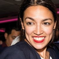 Alexandria Osasio-Cortez's views on Israel reflect a growing gap between Democrats and the Jewish state. Getty images