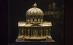 This medieval dome reliquary, from the 12th century, is part of the Guelph Treasure Courtesy of Nicholas M. O'Donnell