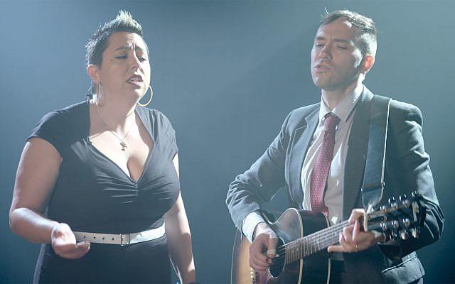 Jewlia Eisenberg and Jeremiah Lockwood sing Celia Dropkin.