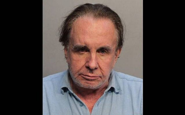 Walter Stolper, 72, faces a charge of first-degree attempted arson. (Miami Beach Police/Twitter)