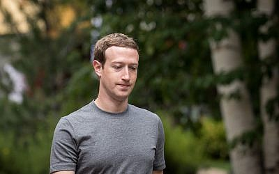 Mark Zuckerberg at the Allen & Company Sun Valley Conference in Sun Valley, Idaho, July 14, 2017. (Drew Angerer/Getty Images)