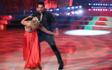 US actor Don Diamont and his dance partner Hanna Korttunnen perform on the Italian TV show 'Ballando Con Le Stelle' (Dancing with the Stars) at RAI Auditorium on March 10, 2018 in Rome, Italy. Getty Images