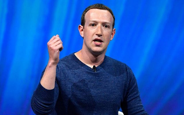 Facebook's CEO Mark Zuckerberg is facing criticism for refusing to rein in President Trump's false or inflammatory messages. Getty Images