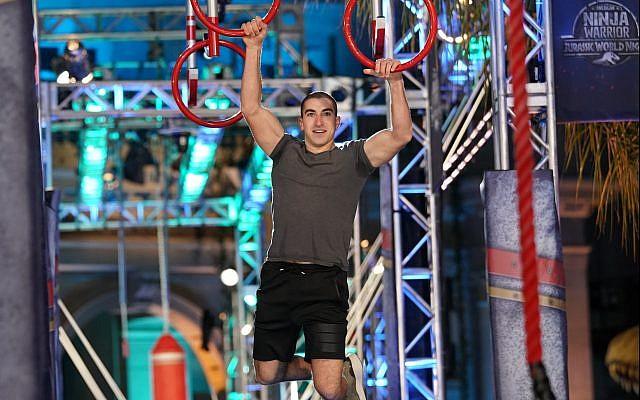 "AMERICAN NINJA WARRIOR -- ""LA Qualifiers"" -- Pictured: Jesse Orenshein -- (Photo by: Tyler Golden/NBC)"