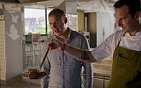 """Phil Rosenthal eats his heart away in """"Somebody Feed Phil"""" on Netflix. Courtesy of Netflix"""
