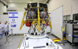 The first Israeli lunar spacecraft is to be launched in December from Cape Canaveral, Fla. (Eliran Avital)