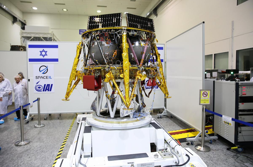 The first Israeli lunar spacecraft is to be launched in December from Cape Canaveral Fla