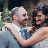 Noa and David were married on May 29, 2018 in Jaffa, Israel. Courtesy of Jonny Finkel