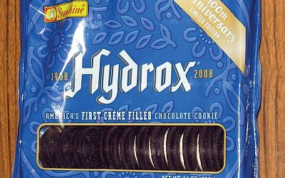 Hydrox is claiming that Oreos employees block the cookie competitor when they stock the supermarket shelves. Wikimedia Commons