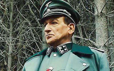 Sir Ben Kingsley as Adolf Eichmann. YouTube