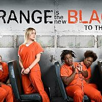 "The Netflix hit series ""Orange is the New Black"" is set in an all-women's prison. (JTA)"