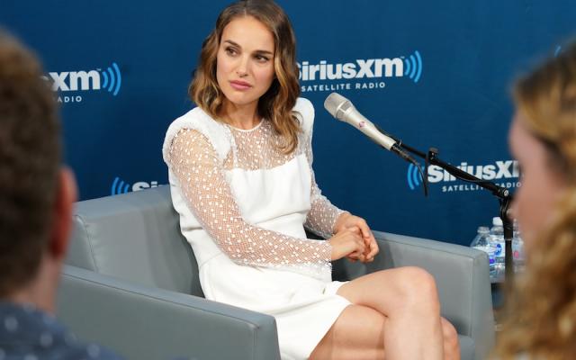 Natalie Portman at SiriusXM Studios in New York City, N.Y., June 15, 2018. (JTA)