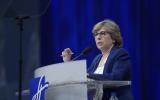 Randi Weingarten, president of the American Federation of Teachers, wants her union to build relationships with Israeli progressives. (JTA)