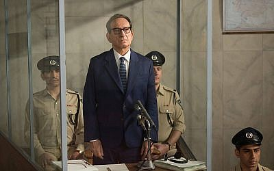 Ben Kingsley as Adolf Eichmann in 'Operation Finale.' Courtesy MGM via Times Of Israel