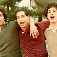 """Three Identical Strangers"" is a documentary about triplets separated at birth by a Jewish-affiliated adoption agency in 1961. (JTA)"