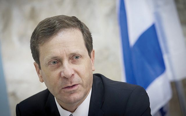 A bridge too far? New Jewish Agency head Isaac Herzog in a tricky spot. JTA