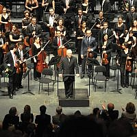 Daniel Barenboim brings his West-Eastern Divan Orchestra to Carnegie Hall. Wikimedia Commons
