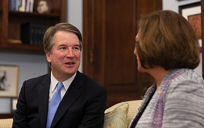 Judge Brett Kavanaugh and his accuser, Christine Blasey Ford, had said they would testify Monday before the Senate Judiciary Committee. Getty Images