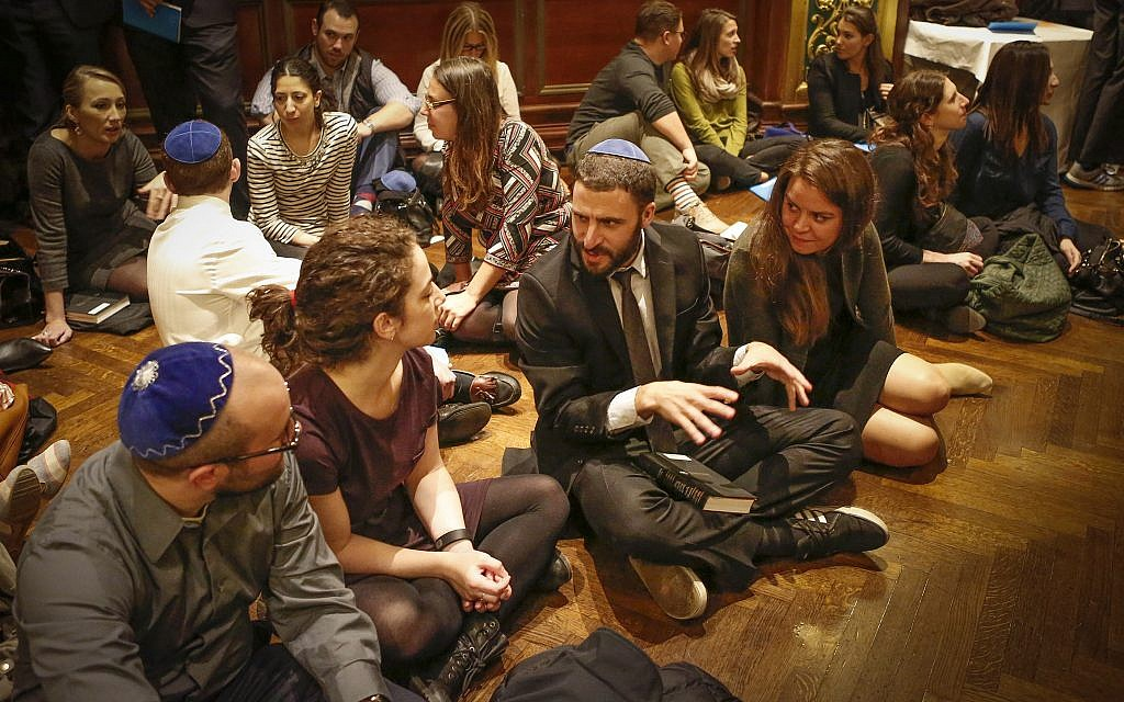 Millennials on the floor at the Prince George Ballroom. Courtesy of Ohel Ayala