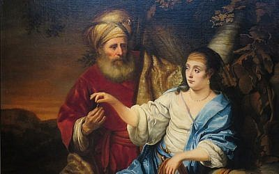 Judah and Tamar by Ferdinand Bol (1653) / Wikicommons