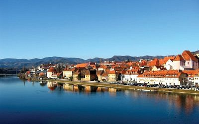 Maribor's old town. Photos by Wikimedia Commons