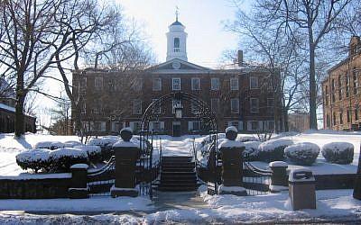 The Old Queens building at Rutgers University in New Brunswick, N.J. (JTA)