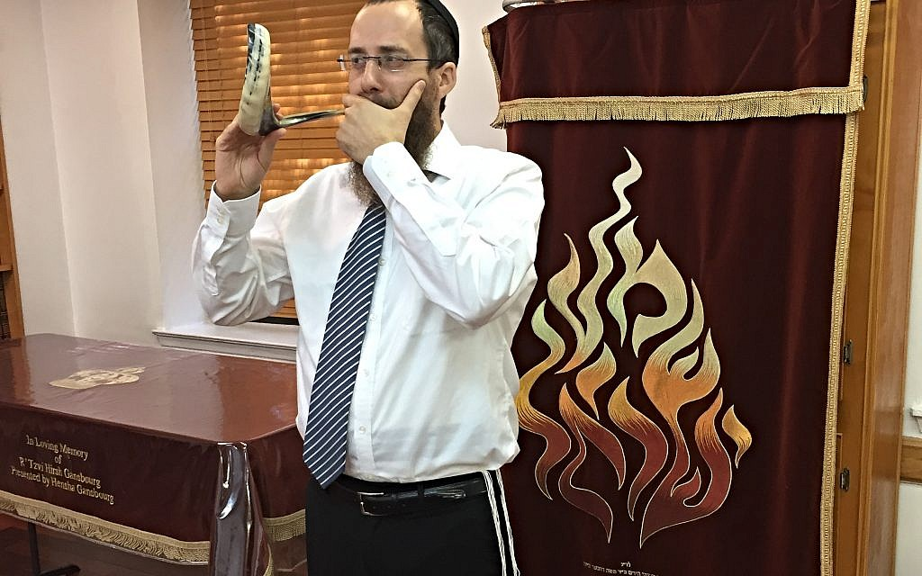 Chabad of Harlem's Rabbi Yossi Gansbourg. Joshua Mellits/JW