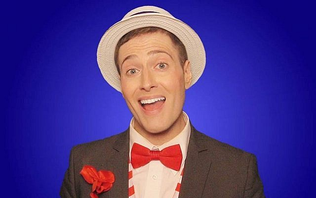 Popular YouTube satirist Randy Rainbow. Via Times Of Israel