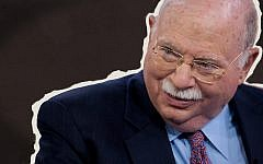 Hillel International issued a confidential statement to its professional staff confirming allegations of unwelcome sexual remarks by Michael Steinhardt, one of the organization's major philanthropists. Image: Michael Steinhardt - JTA/JW Design