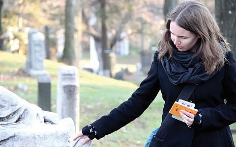 "Allison C. Meier to bring her""Death in Colonial New York Walking Tour"" to the Reimagine conference. Courtesy of Reimagine"