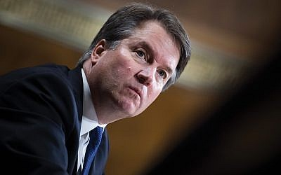 "Heroes or victims? Brett Kavanaugh was the victim of ""a hoax,"" according to President Trump. Photos by Getty Images"