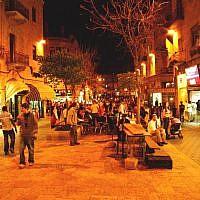 Ben Yehuda, Israel. Wikimedia.