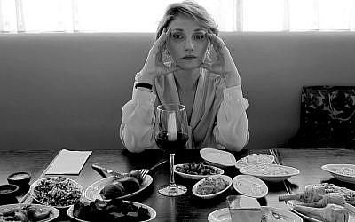 """Evgenia Dodina in """"Death of a Poetess.""""."""